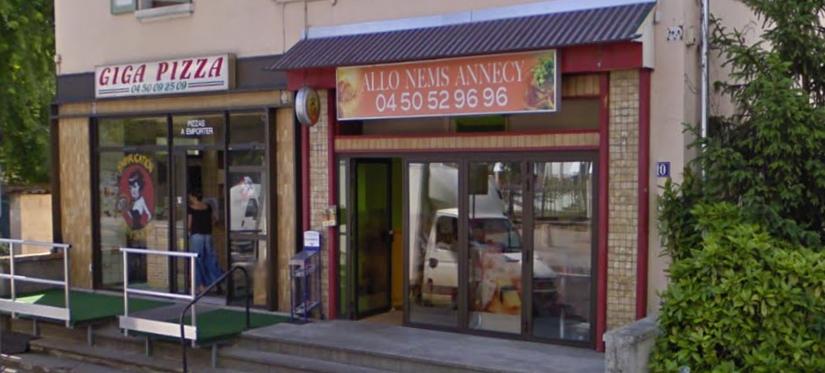Giga Pizza à Annecy, des pizzas qui battent de l'aile