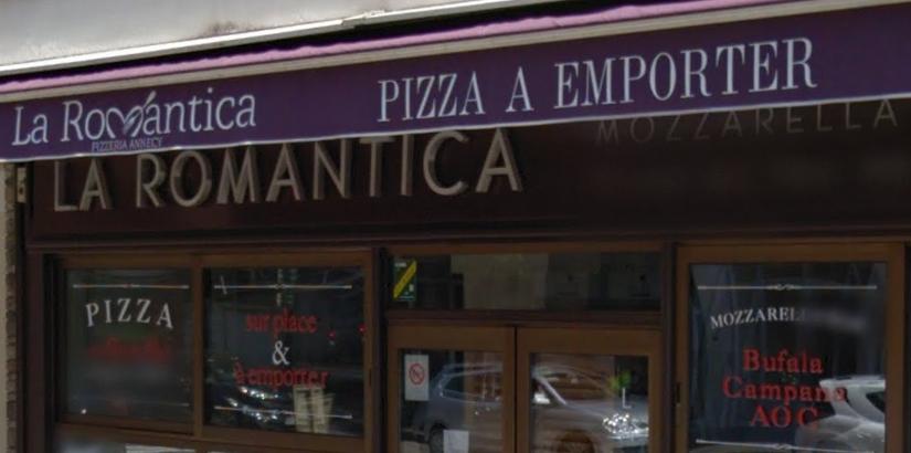 La Romantica à Annecy, des pizzas aux saveurs d'Italie